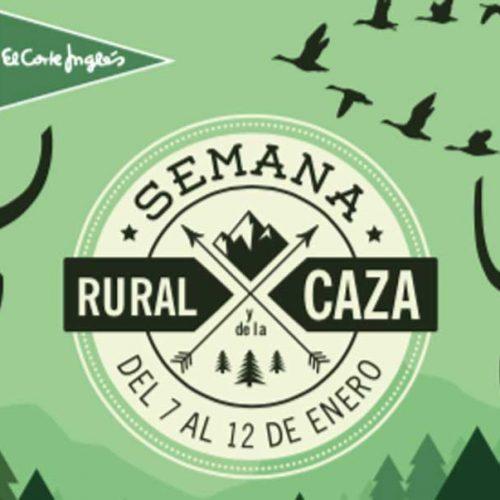 El Corte Inglés de Badajoz celebra la Semana Rural y de la Caza