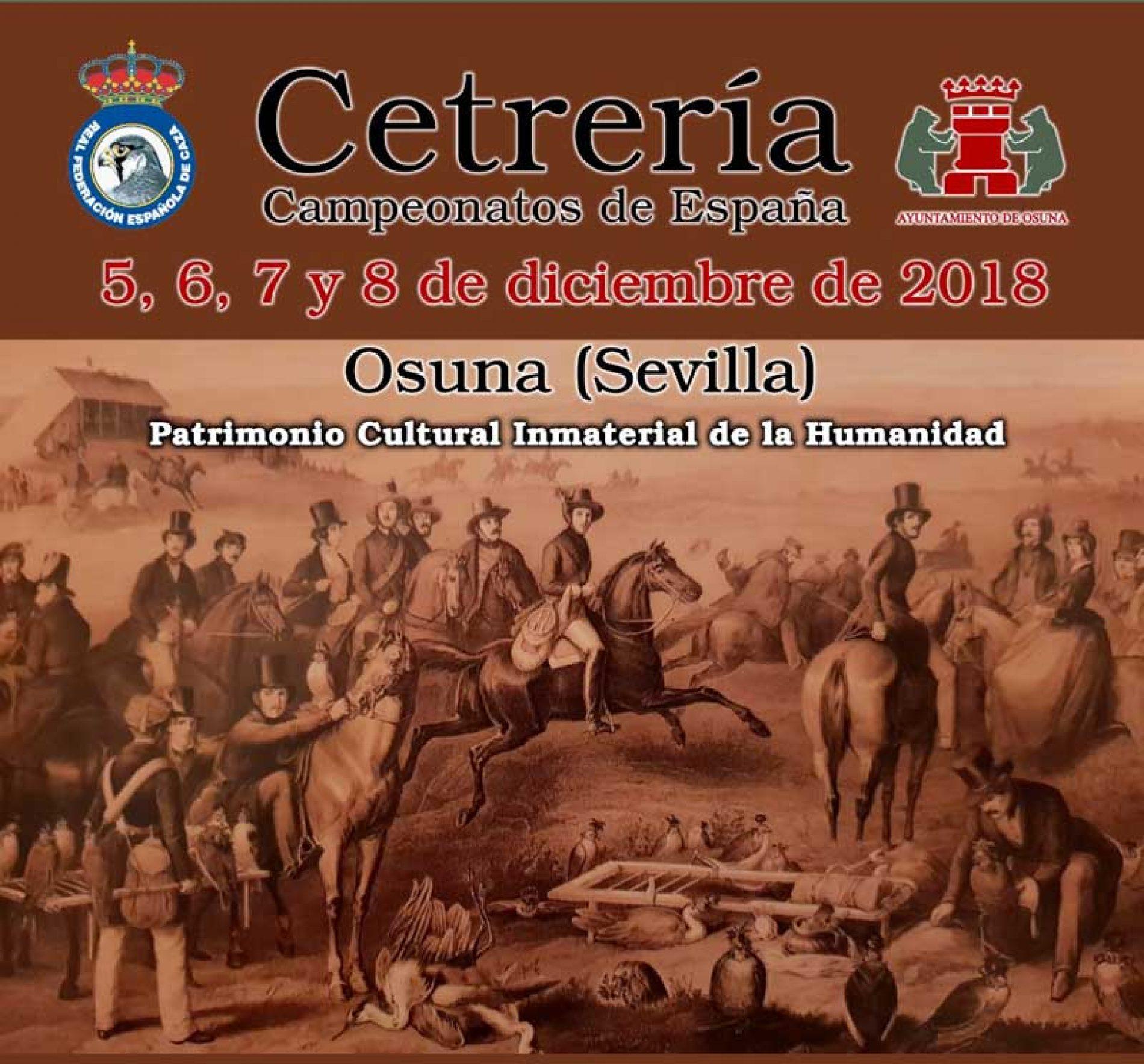 Campeonatos de España de Cetrería del 5 al 8 de diciembre en Osuna