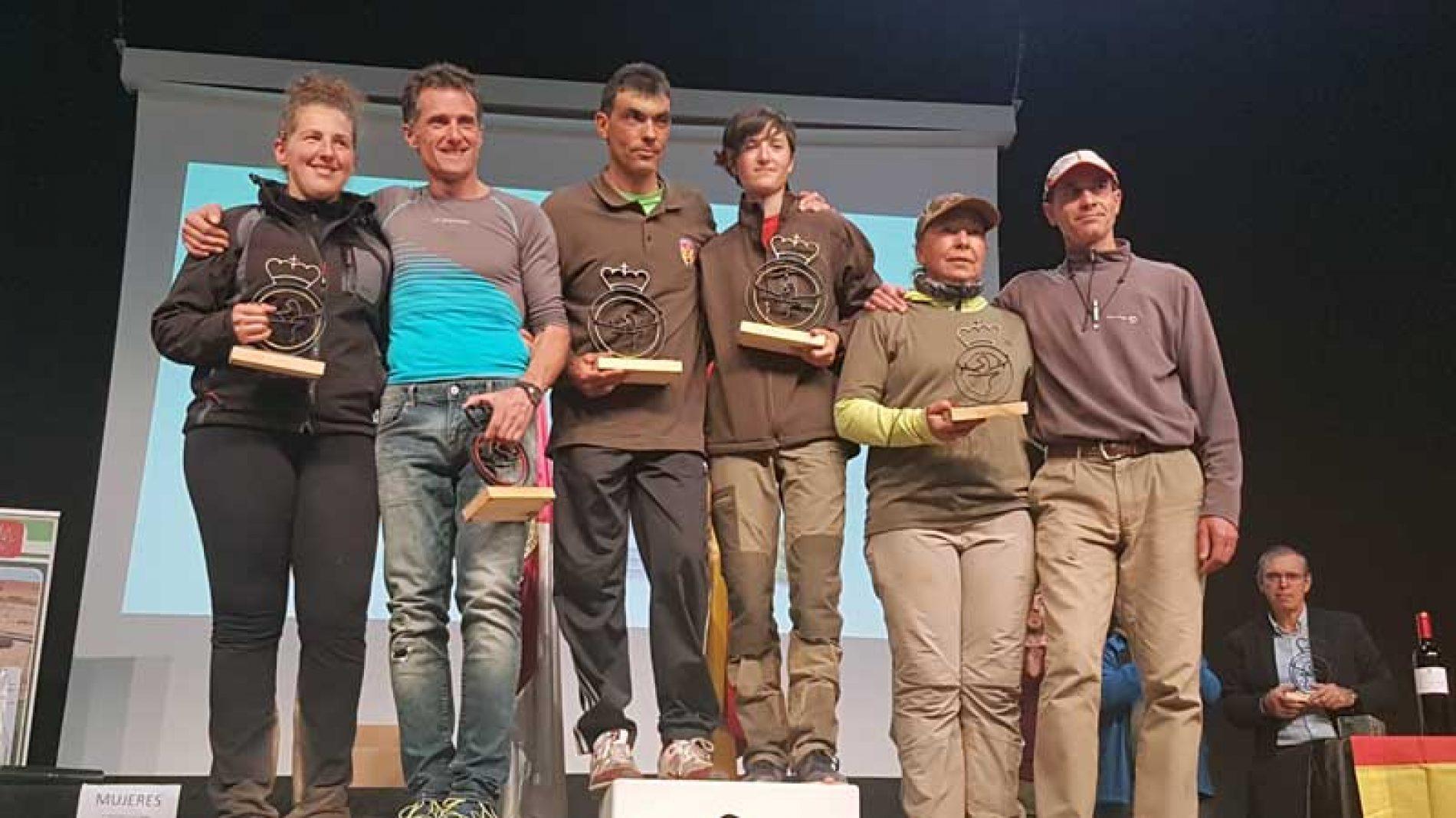 Fernando del Campo y Lidia Pérez ganan el L Campeonato de España de Caza Menor con Perro