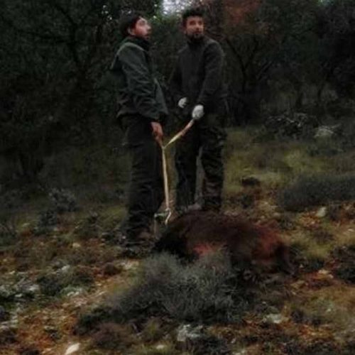 El viento y la lluvia protagonistas en la montería Segontia-2