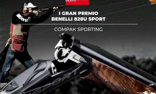 Inscripción abierta para el I Gran premio Benelli 828U Sport, Compak Sporting