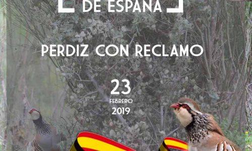Campeonato de España de Perdiz con Reclamo 2019 en Navalvillar de Pela