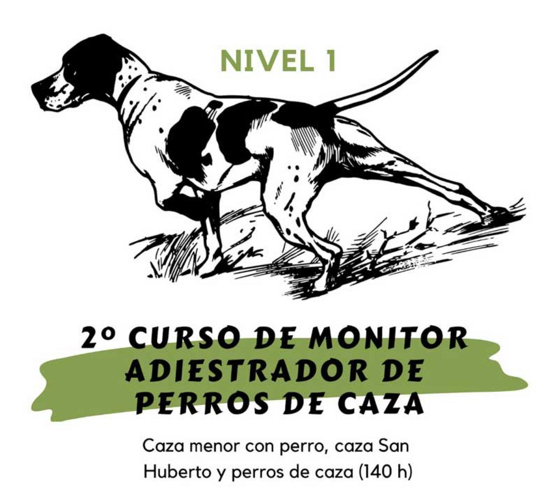 Nueva edición del curso 'Monitor Deportivo-Adiestrador de Perros de Caza'