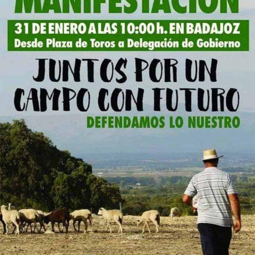 FEDEXCAZA se suma a la manifestación del 31 de enero en Badajoz