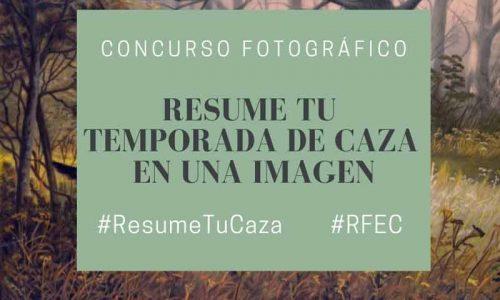 """La RFEC pone en marcha el concurso  """"Resume tu temporada de caza en una imagen"""""""