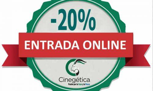 Ya puedes comprar tu entrada online para Cinegética 2019