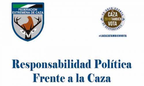 La Federación Extremeña de Caza lanza la campaña #LaCazaTambiénVota