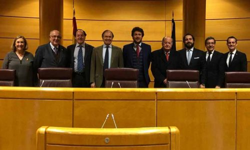 La RFEC y la ATP valoran en el Senado la moción a favor de la caza y los toros