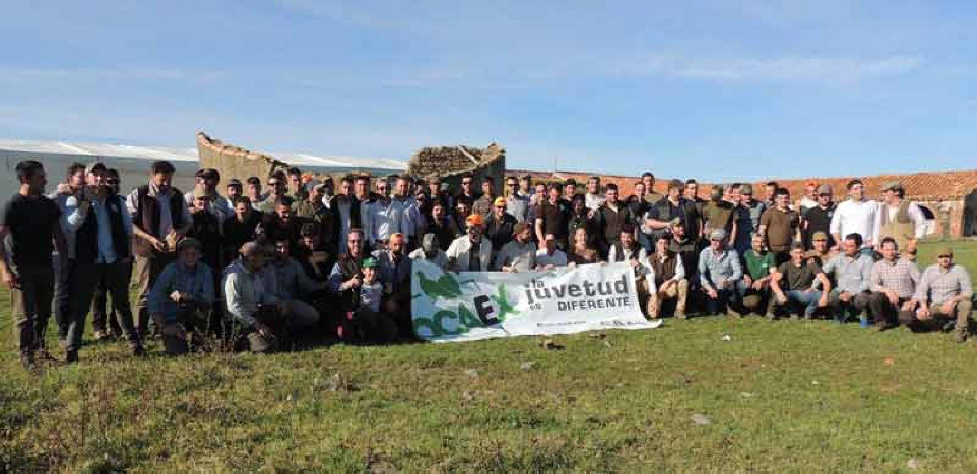 JOCAEX reúne a más de 100 jóvenes en su III Convivencia de Jóvenes Cazadores