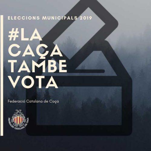 La Federación Catalana de Caza se suma a la campaña #LaCazaTambiénVota