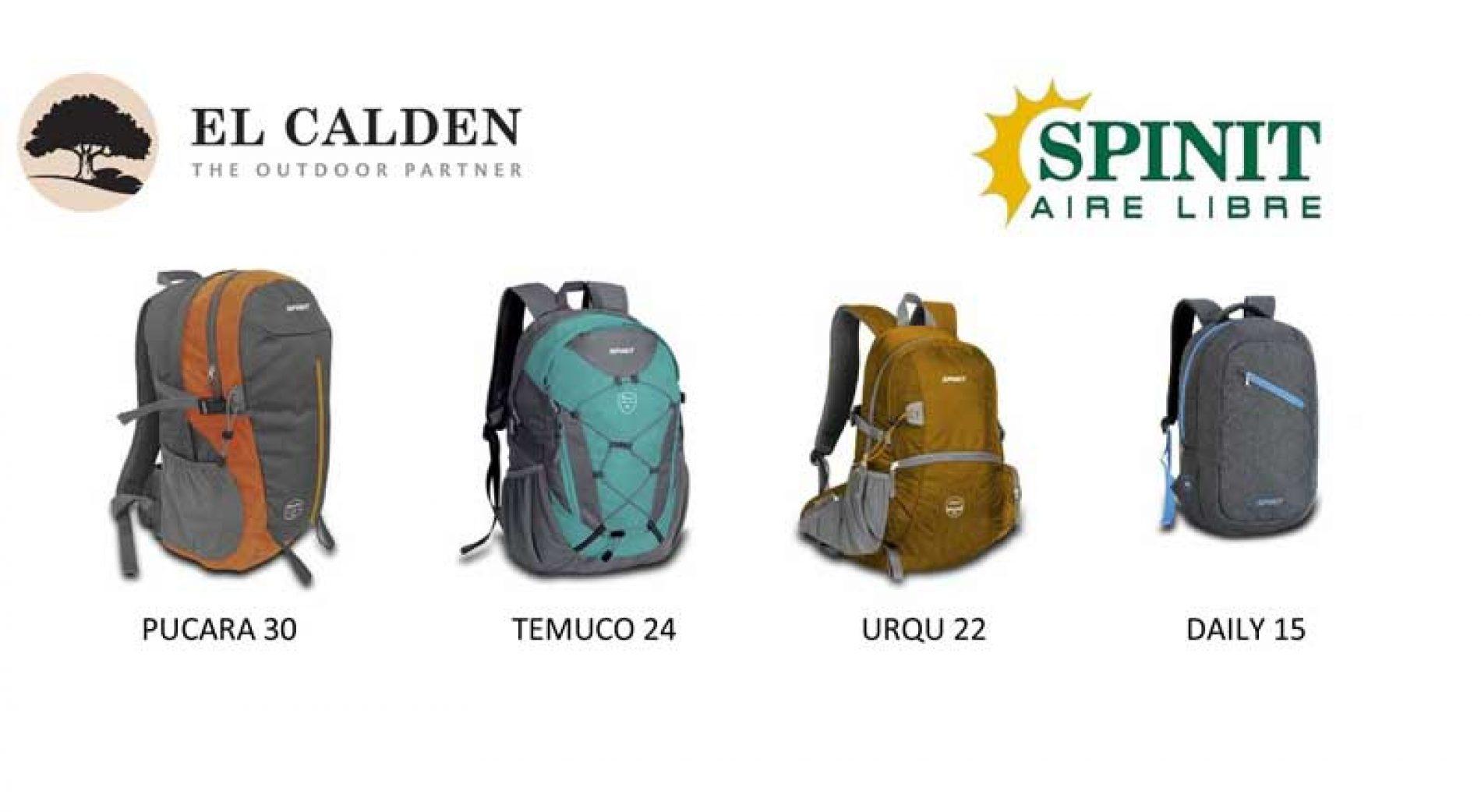 Nuevas mochilas Spinit: deporte y aventura al alcance de todos