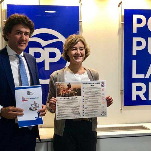 El PP ratifica su trabajo continuado a favor de la caza