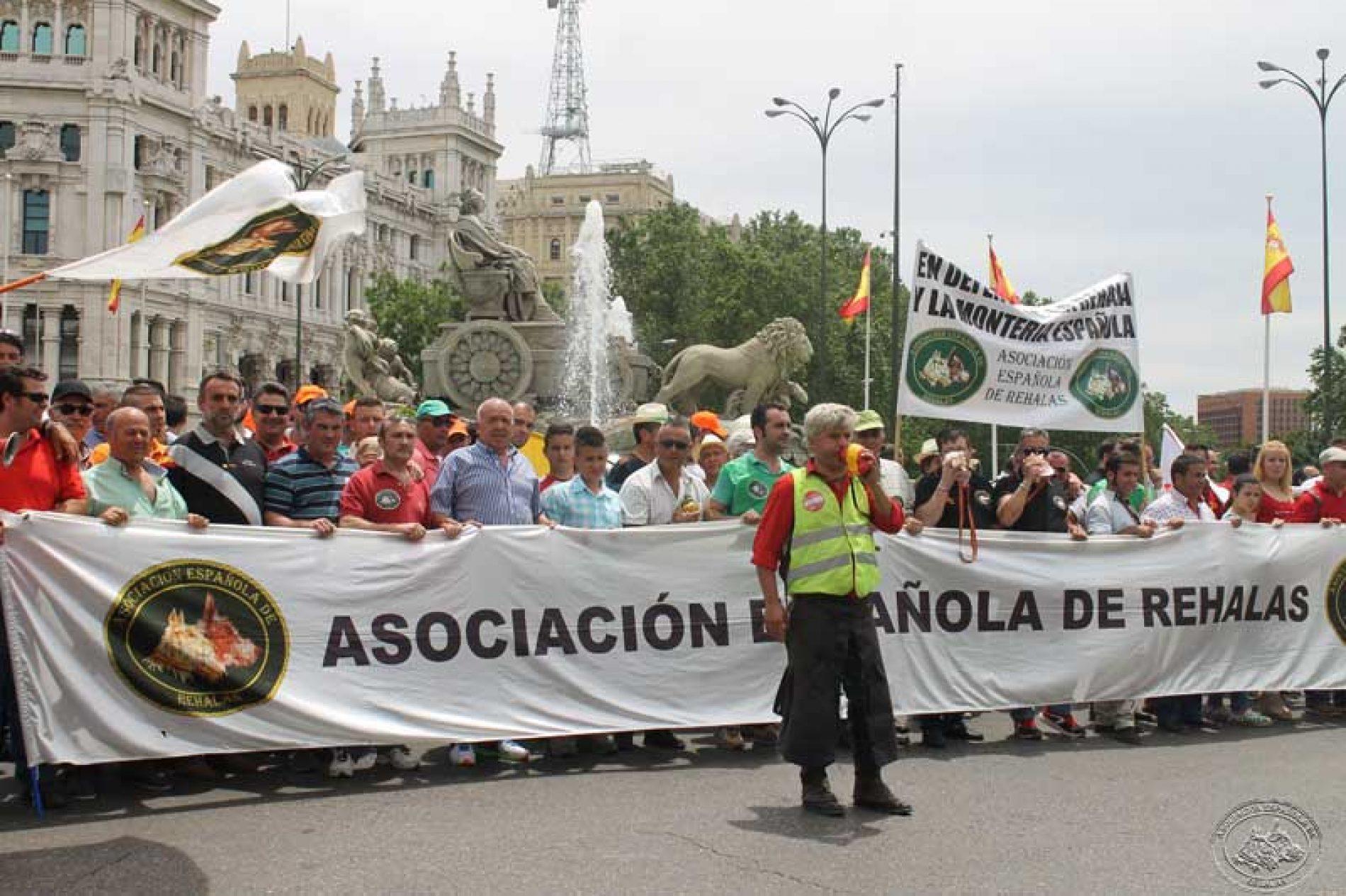 La A.E.R. apoya la concentración de 13 de marzo