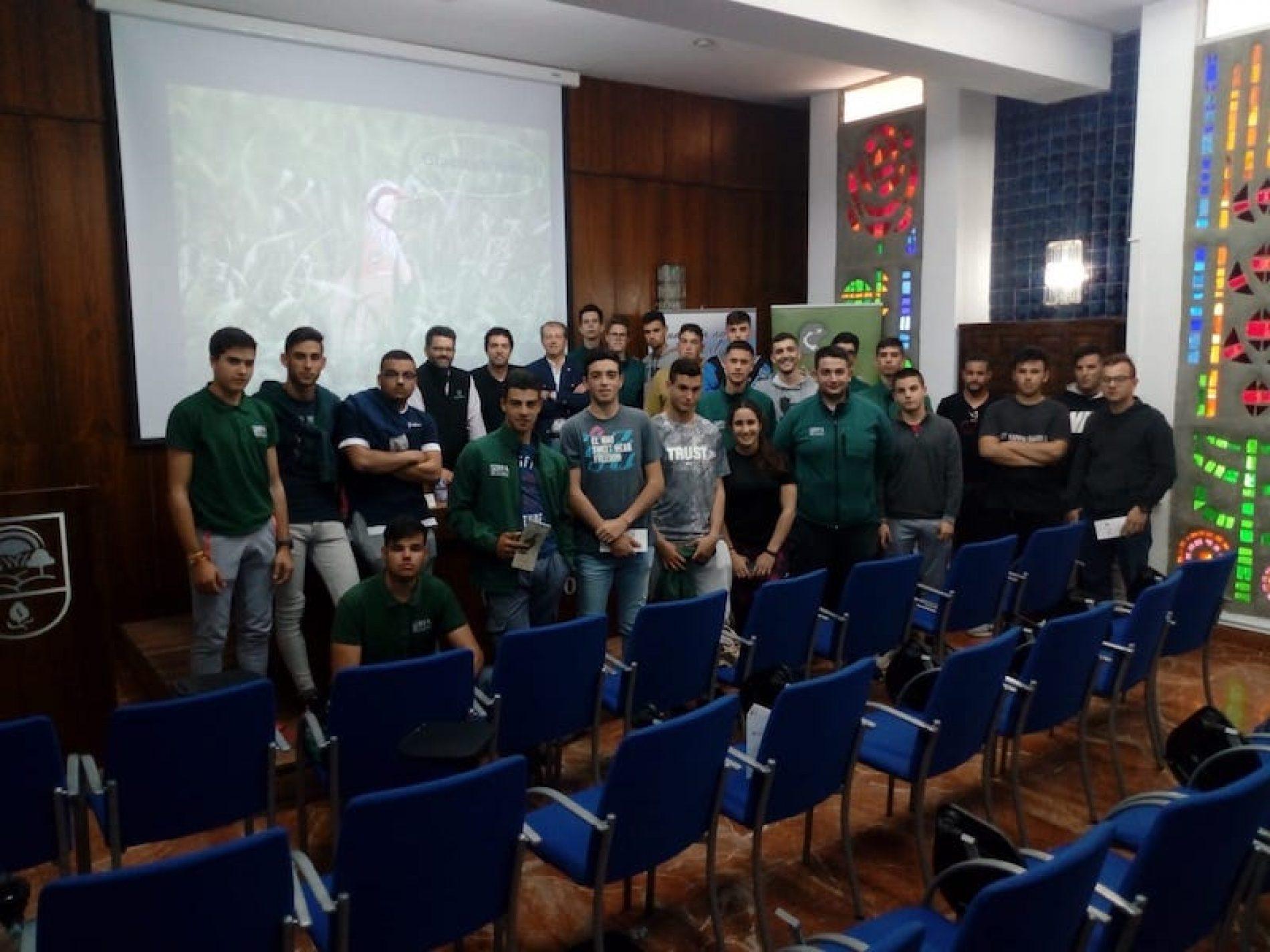 Jornada de Divulgación de proyectos de Investigación de la FAC y Artemisan para los alumnos del EFA El Soto