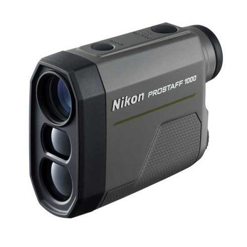 Telémetro láser PROSTAFF 1000 de Nikon, compacto, ligero con rango de medición de hasta 910 m