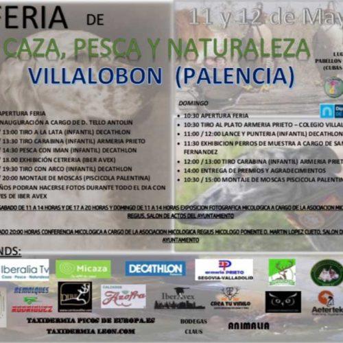 Primera feria de caza pesca y naturaleza en Villalobón