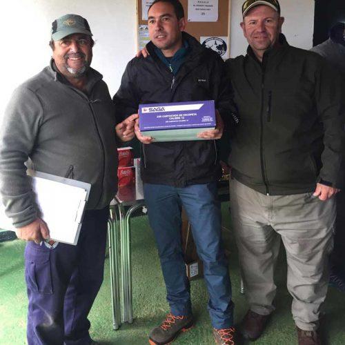 Francisco Javier Barbosa ganador de la 1ª prueba puntuable del Campeonato de Extremadura de Compak Sporting