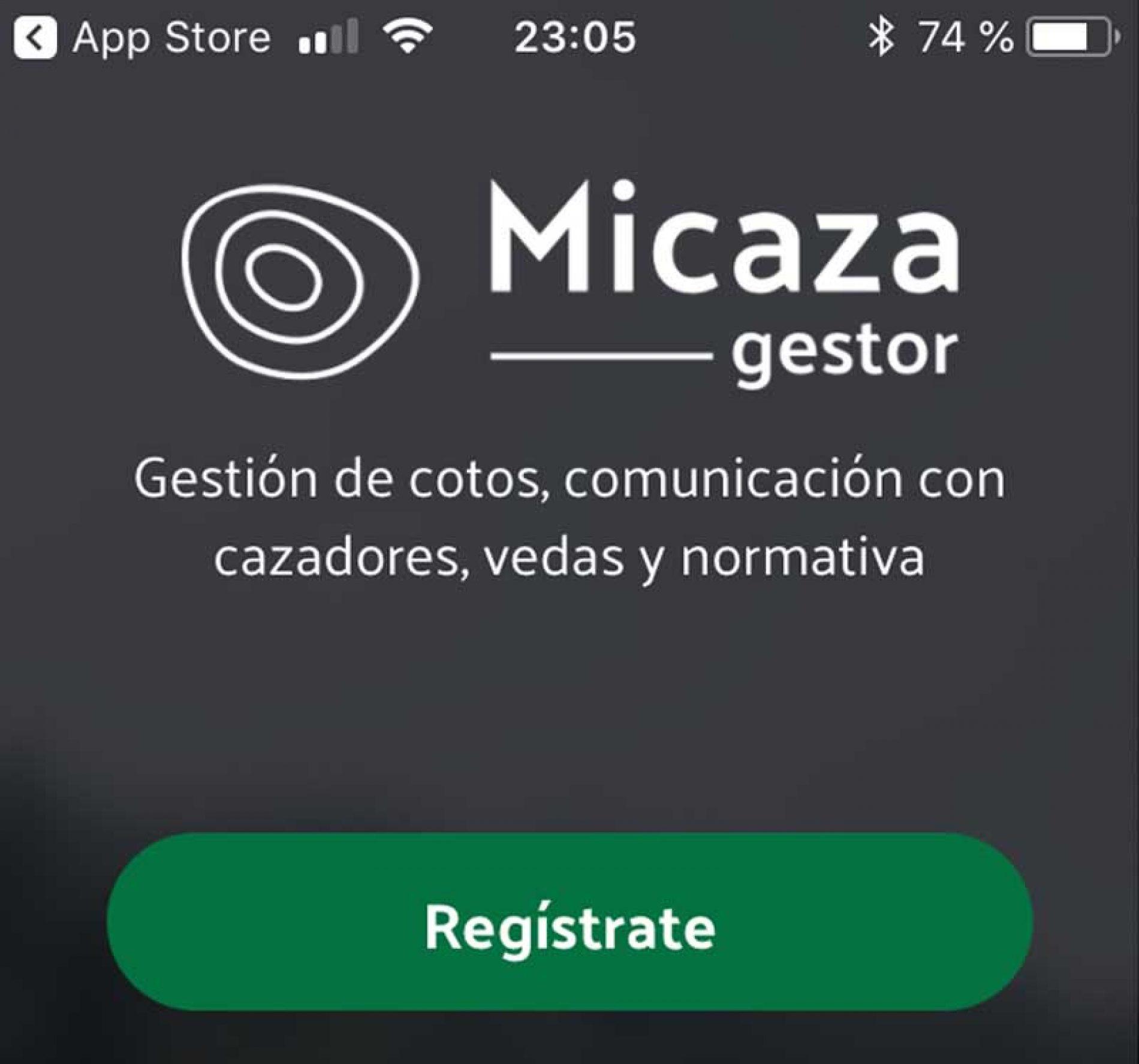 Micaza Gestor, la app para gestores de cotos, sociedades de cazadores y campos de tiro