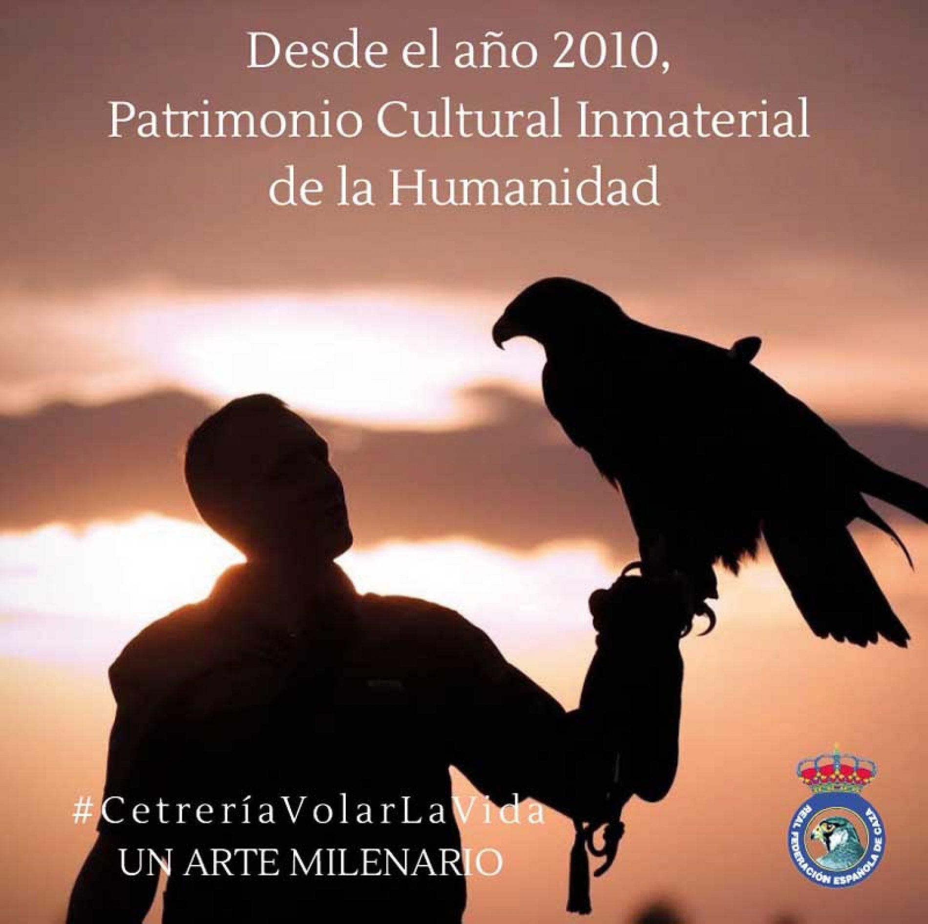 La RFEC inicia la campaña #CetreríaVolarLaVida para fomentar esta tradición de caza milenaria