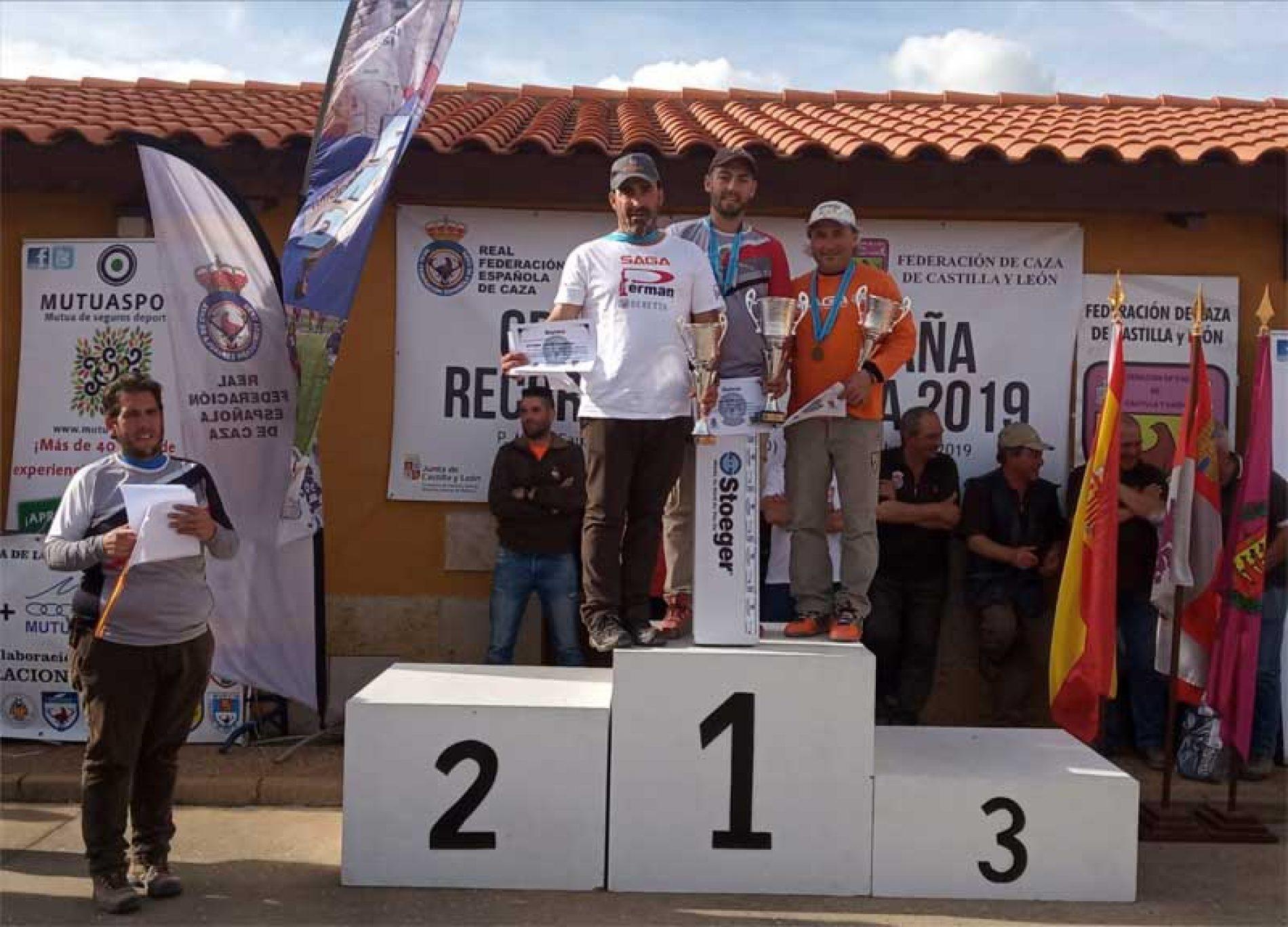 Gonzalo García ganado del Gran Prix FITASC de España de Recorridos de Caza