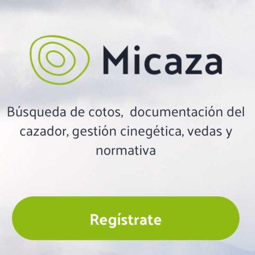 Micaza una app pensada y creada por cazadores, para los cazadores