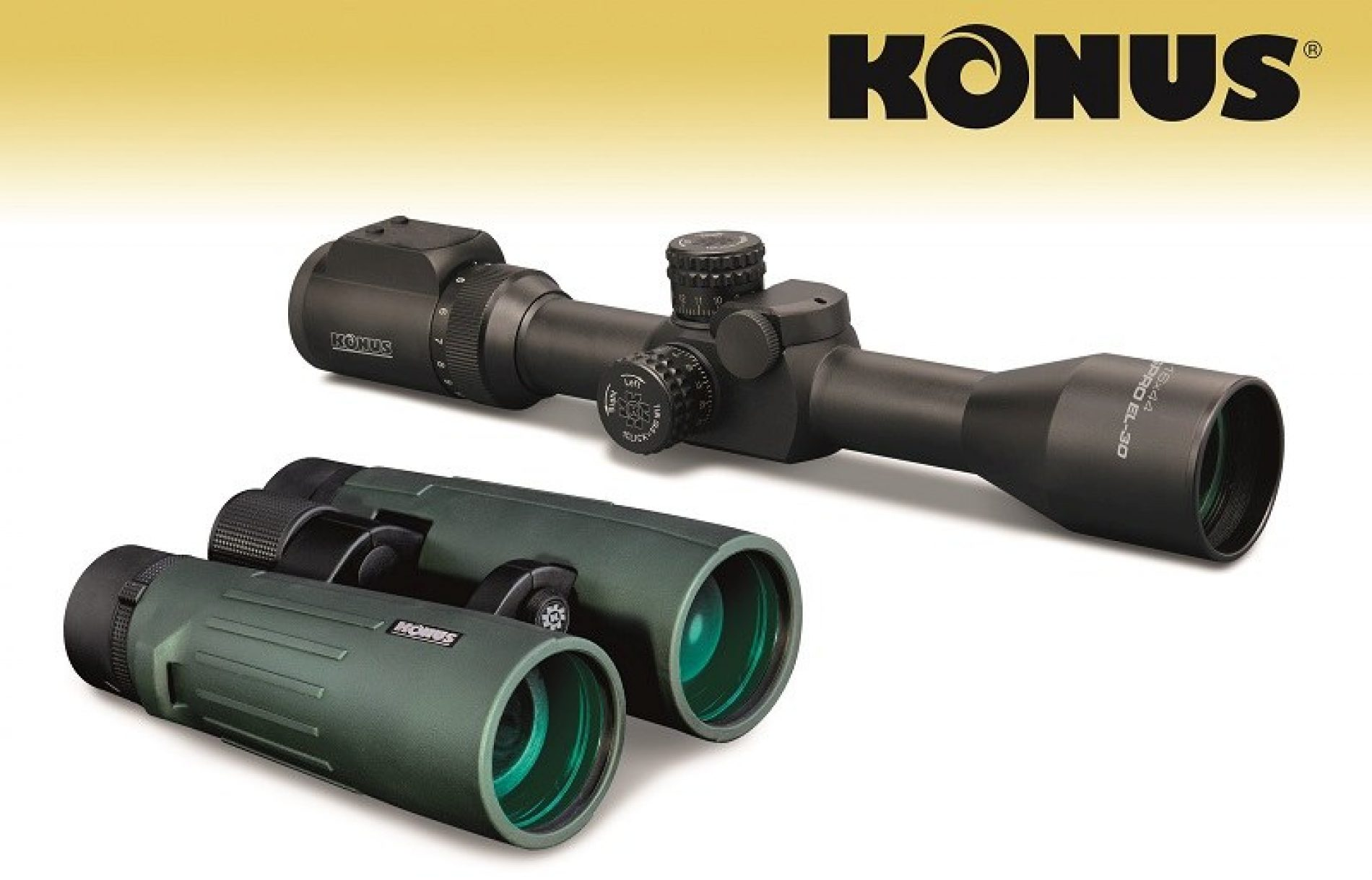 Arcea distribuirá en España, KONUS, fabricante italiano de óptica