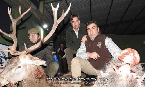 La Peña Monteros de Azuaga disfrutó de un gran día de montería en La Traviesa