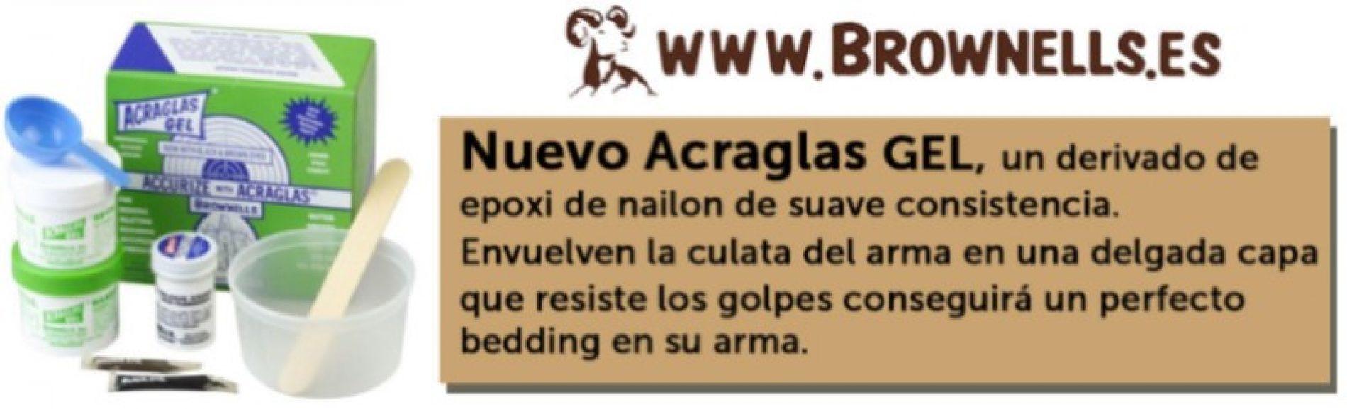 Nuevo ACRAGLAS GEL de Brownells