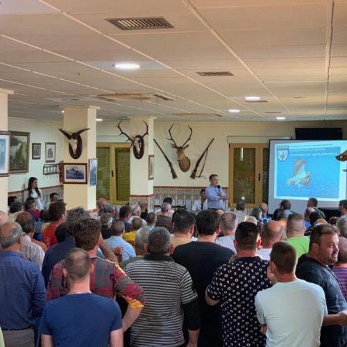 Los cazadores valencianos se vuelcan con la reintroducción del águila pescadora