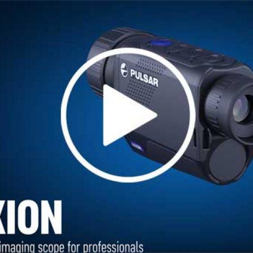 Axion: Nuevo dispositivo de visión térmica de Pulsar