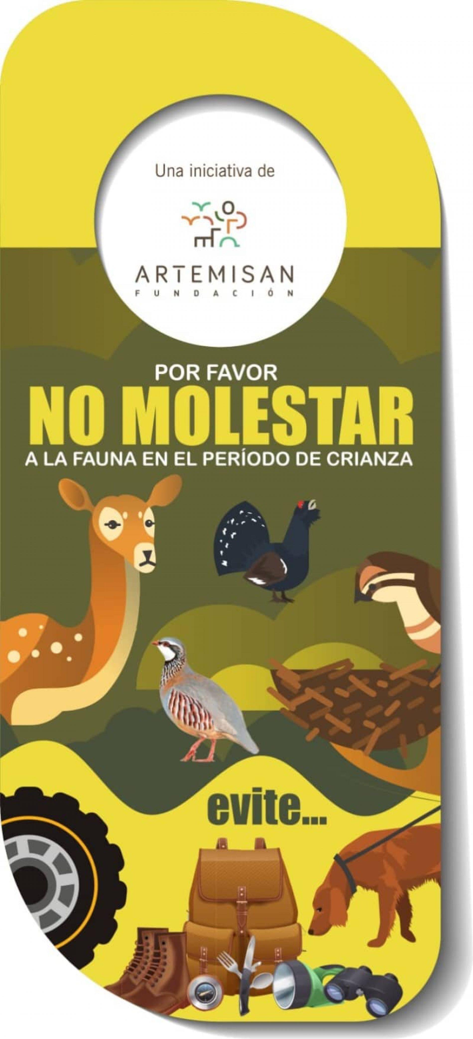 """""""Se ruega no molestar"""", los peligros de molestar a la fauna silvestre durante los periodos de cría"""