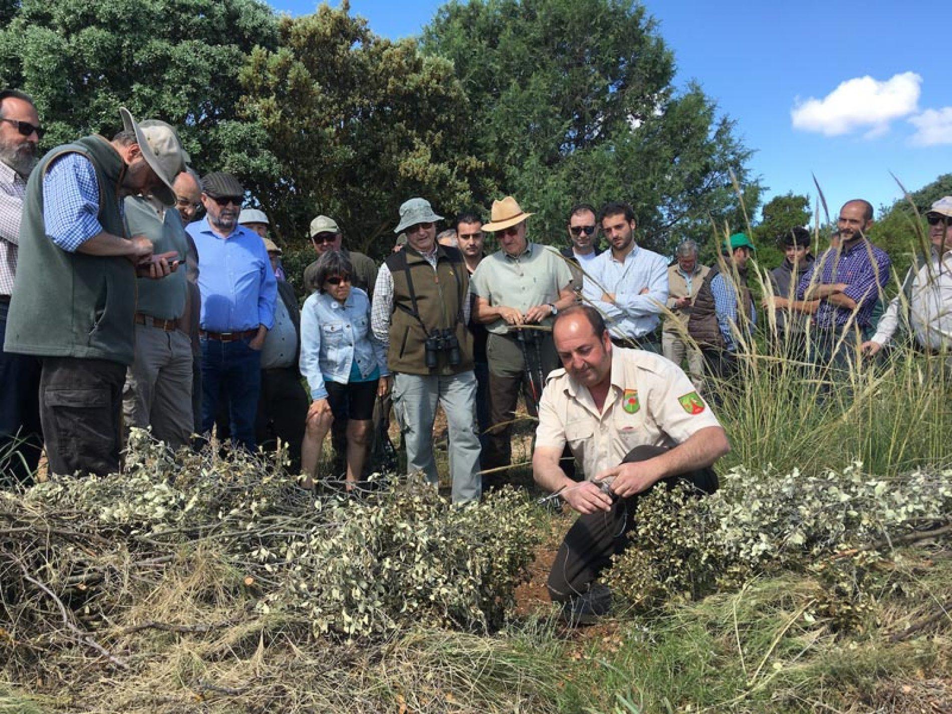 El Grupo Perdicero de Castilla-La Mancha realiza con éxito un 'Paseo de Caza'