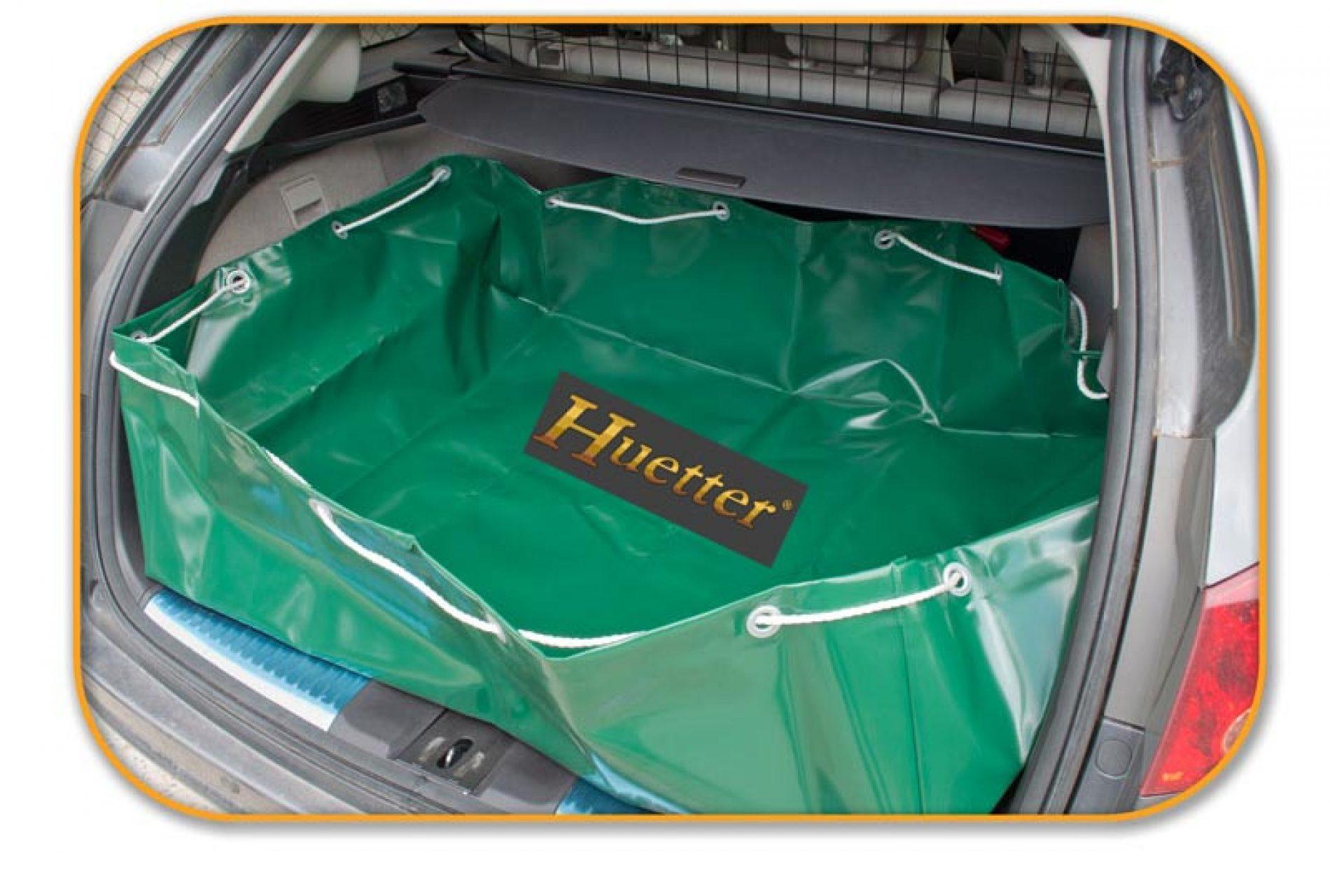 Huetter Sports presenta el 3-en-1 para el maletero del cazador, la bañera-saco-protector