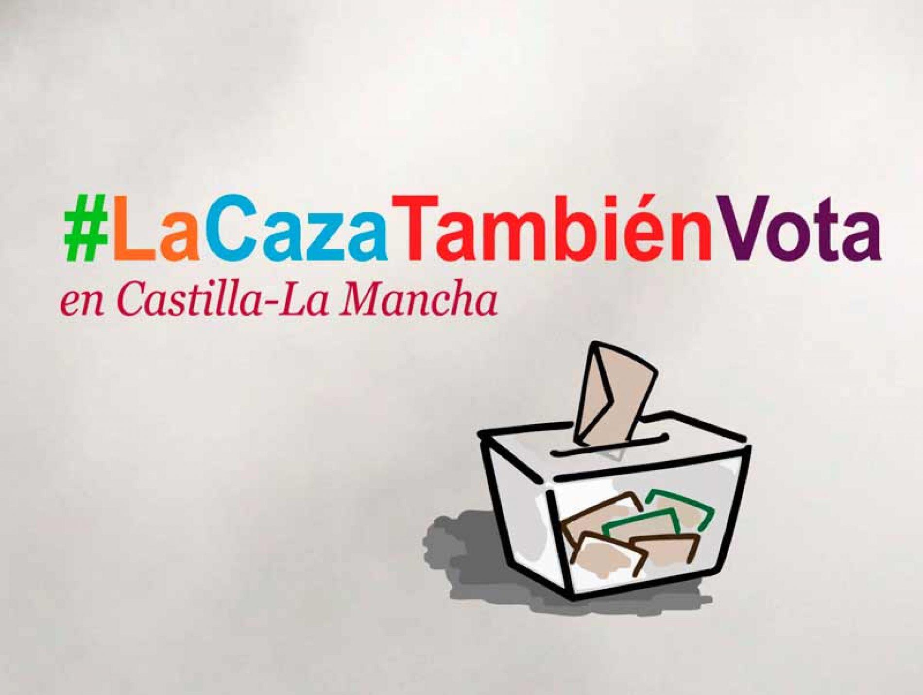 PSOE, PP, Ciudadanos y VOX firman su compromiso con la caza en el marco de la campaña #LaCazaTambiénVota en Castilla-La Mancha