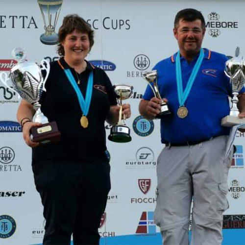 Beatriz Laparra se alza con el XXV Campeonato de Europa de Compak Sporting