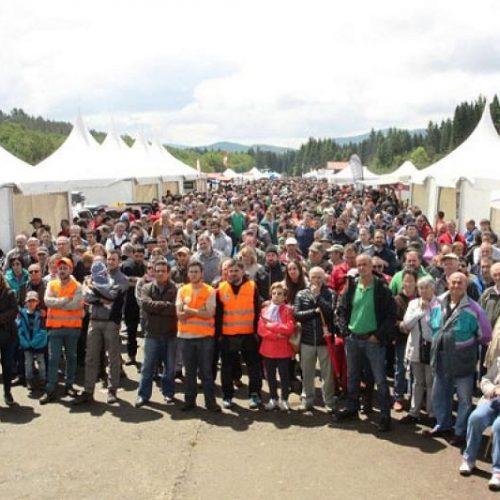 Cazadores y pescadores vascos reivindican con orgullo sus aficiones en su día