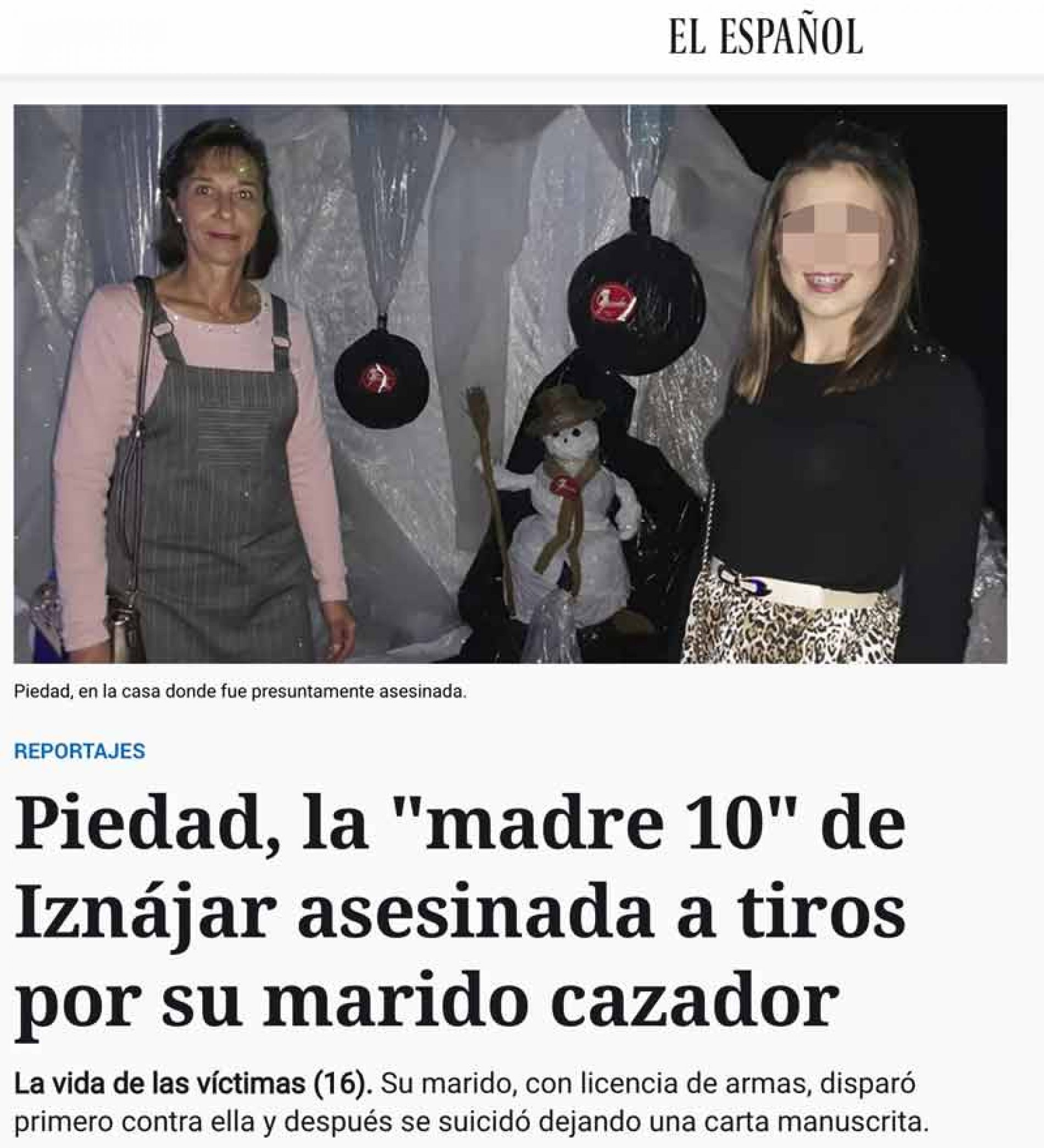 La RFEC exige a 'El Español' una rectificación por criminalizar al sector cinegético en el caso de violencia de género de Iznájar