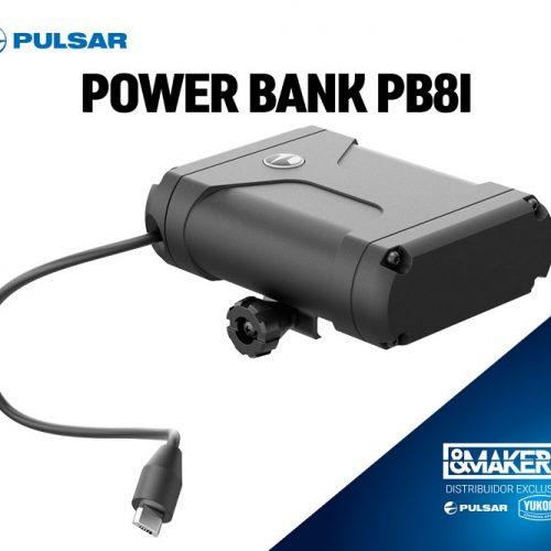Alarga la batería de su dispositivo Pulsar con la Power bank PB8i