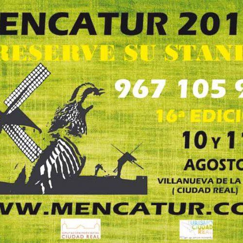 Reserva ya tu stand en Mencatur 2019