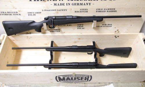Ahora el rifle Mauser M18 en calibre 7 mm RM a un precio súper exclusivo