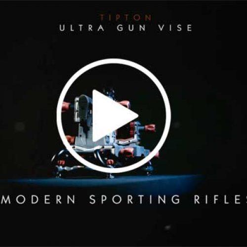 Soporte para la limpieza y mantenimiento de armas cortas y largas.Tipton Ultra Gun Vise.