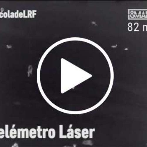 El telémetro láser del Accolade LRF de Pulsar te indica la distancia exacta a la que está un animal