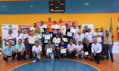 280 aves en el XXV Campeonato de España de Silvestrismo