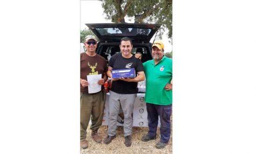Germán Casillas gana el Campeonato de Extremadura de Recorridos de Caza