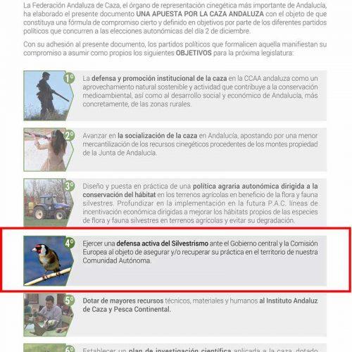La FAC exigirá a los partidos que se comprometieron con #LaCazaTambiénVota su apoyo al Silvestrismo