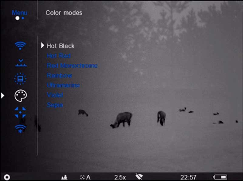 Binocular-Accolade-Red-mono-
