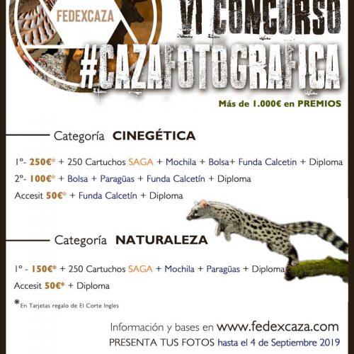 Ya puedes participar en la sexta edición del Concurso #CAZAFOTOGRÁFICA