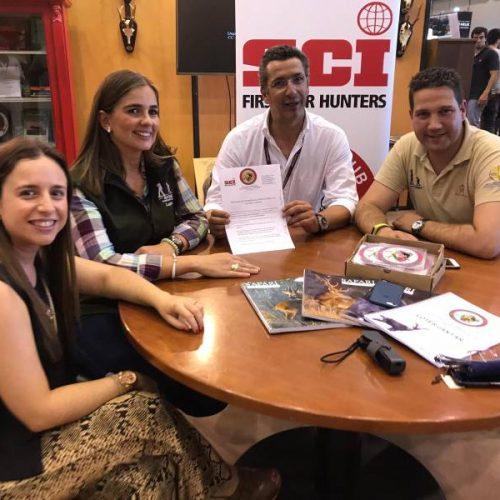 Acuerdo de colaboración entre Juvenex y el Safari Club Internacional de Portugal
