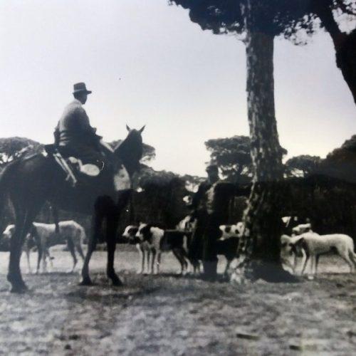 Monteros y rehaleros en Doñana antes del Parque Nacional