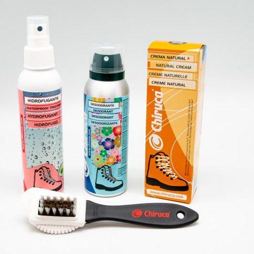 Nuevos productos Chiruca® para el cuidado del calzado de caza